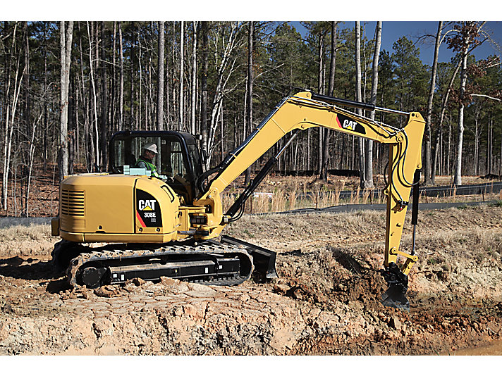308E CR SB Mini Hydraulic Excavators