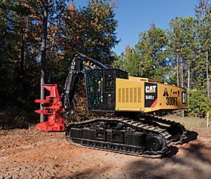552 Series 2 Track Harvester