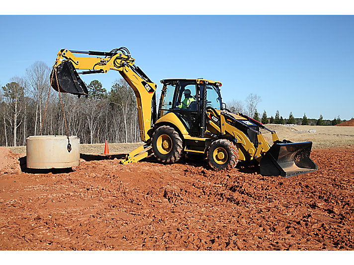 430F Backhoe Loader