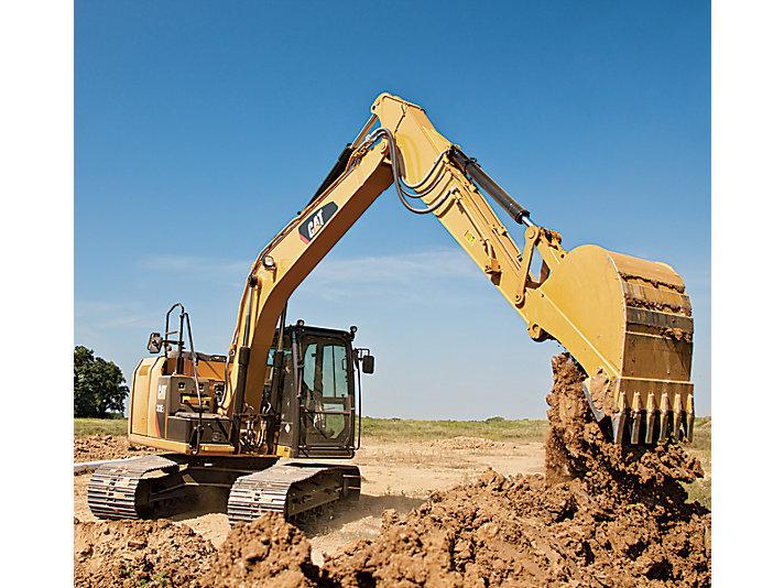 Excavadora Hidráulica Pequeña 312E