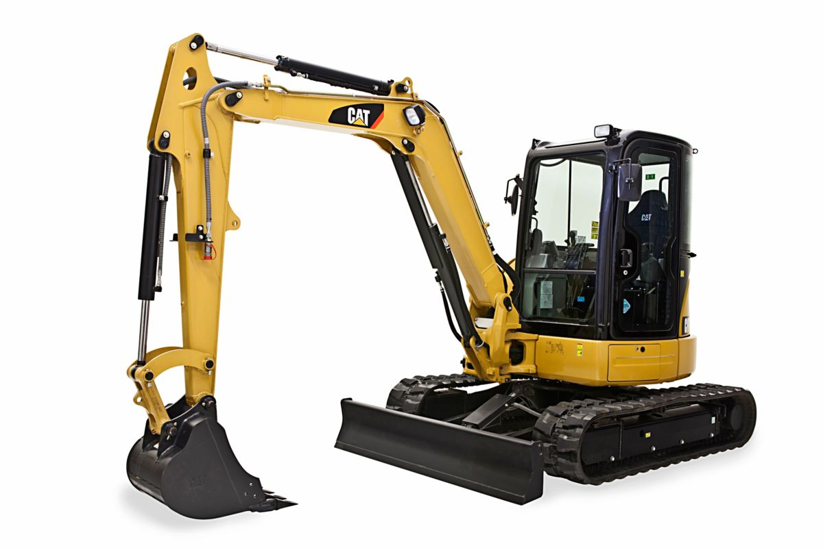 304E2 CR Mini Hydraulic Excavator