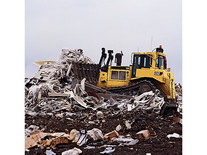 D7R 垃圾搬运推土机