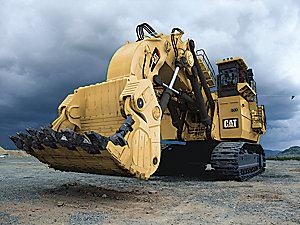 Pelles minières hydrauliques