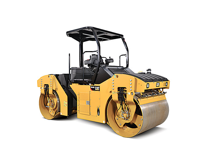 CB44B - Solid Drum Tandem Vibratory Roller