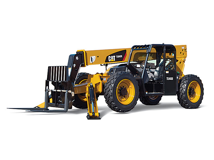 TL943C with Stabilizers Telehandler