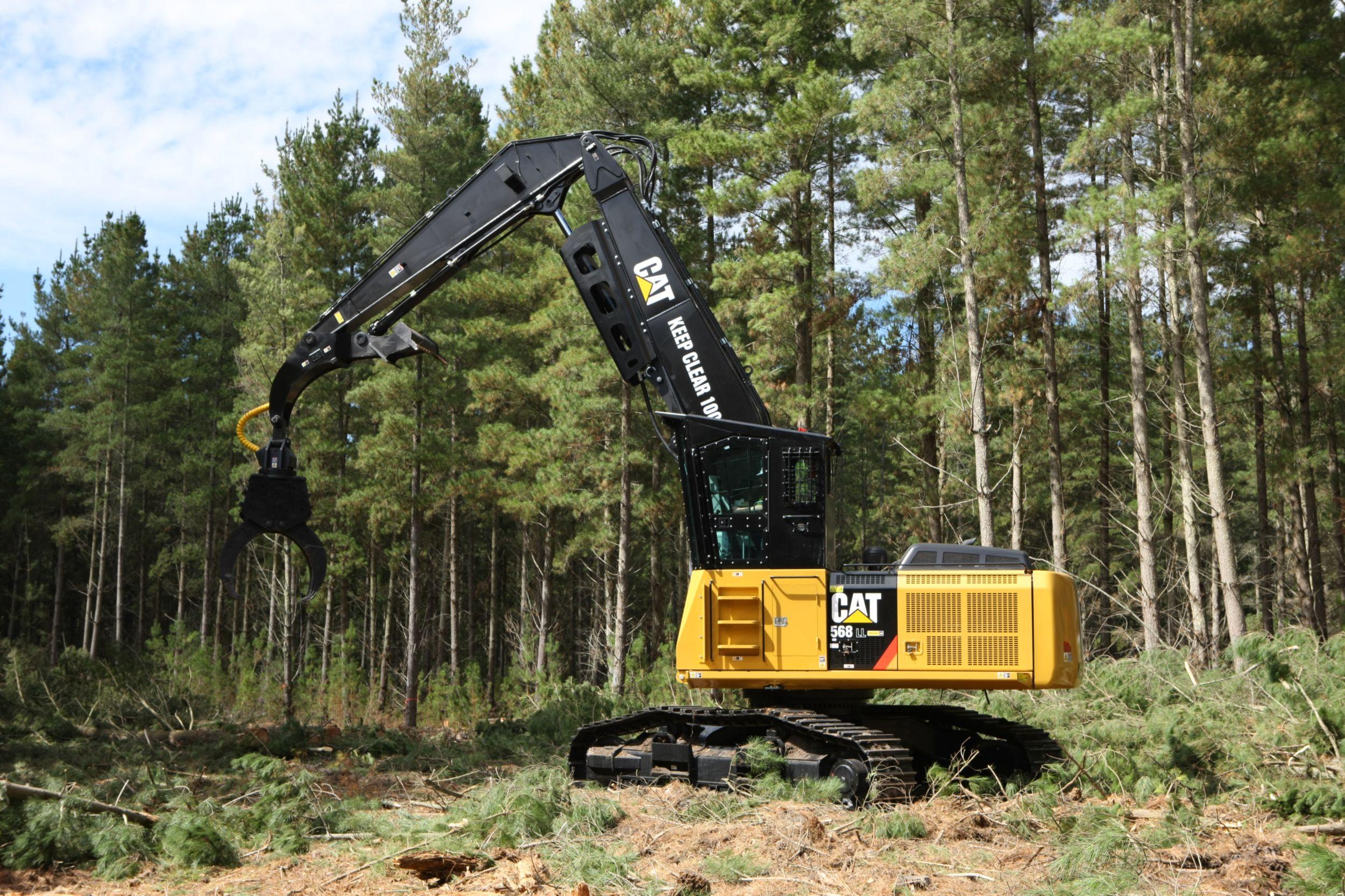 универсальные лесозаготовительные машины