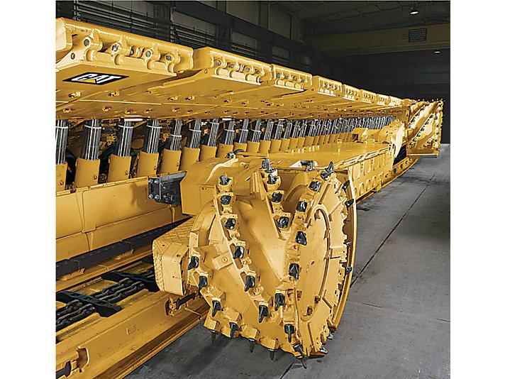Mineradores Contínuos de Cabeça Rotativa Tipo Roçadeira EL2000