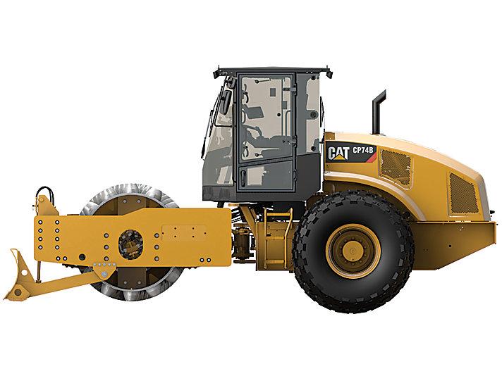 Vibratory Soil Compactor CP74B