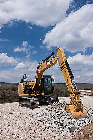 318E Small Hydraulic Excavator
