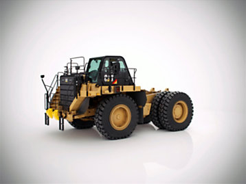 Cat rigid frame truck