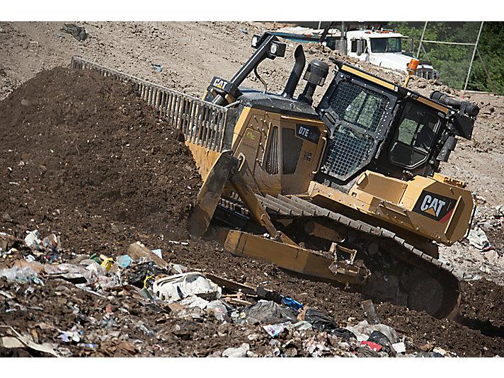 Lame pour le traitement des déchets D7EWH