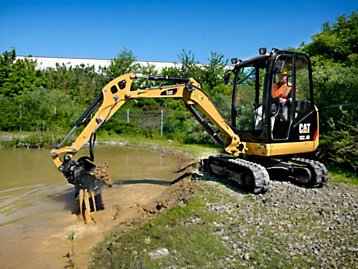 New D series mini excavator