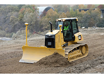 The new Cat D6K2 Track-Type Tractor