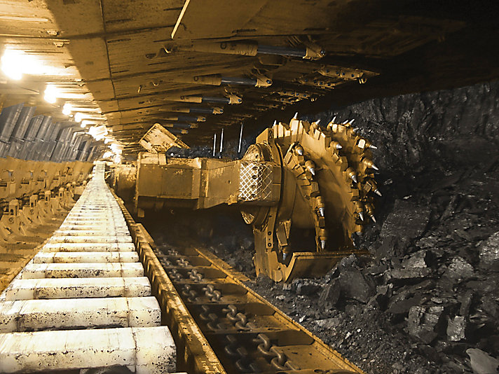 Mineradores Contínuos de Cabeça Rotativa Tipo Roçadeira EL3000