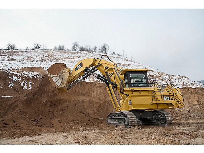 Escavadeiras Hidráulicas de Mineração 6018/6018 FS