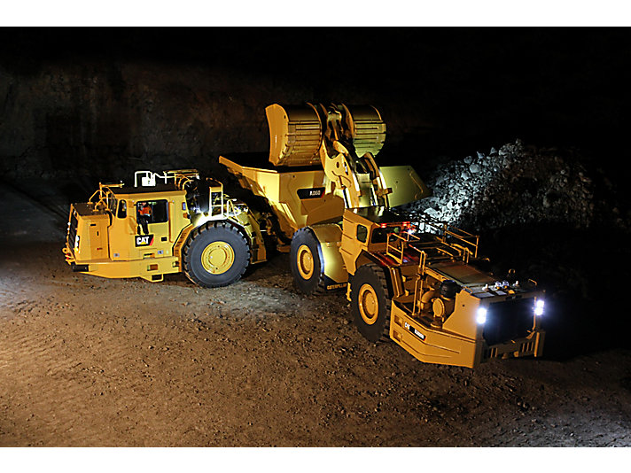 Full Force Diesel >> Cat | R3000H Underground Mining Loader | Caterpillar