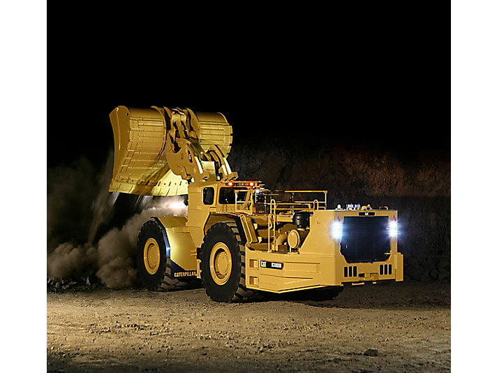 Carregadeira de Mineração (LHD, Load-Haul-Dump) Subterrânea R3000H