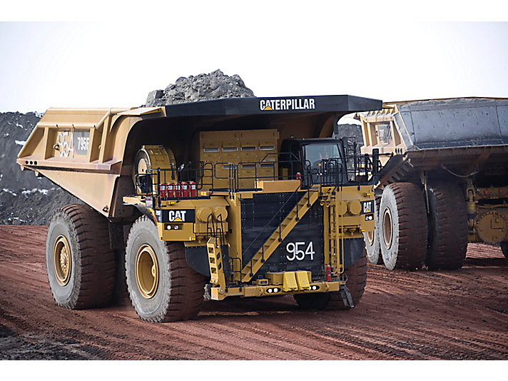 795F AC Gruvtruckar