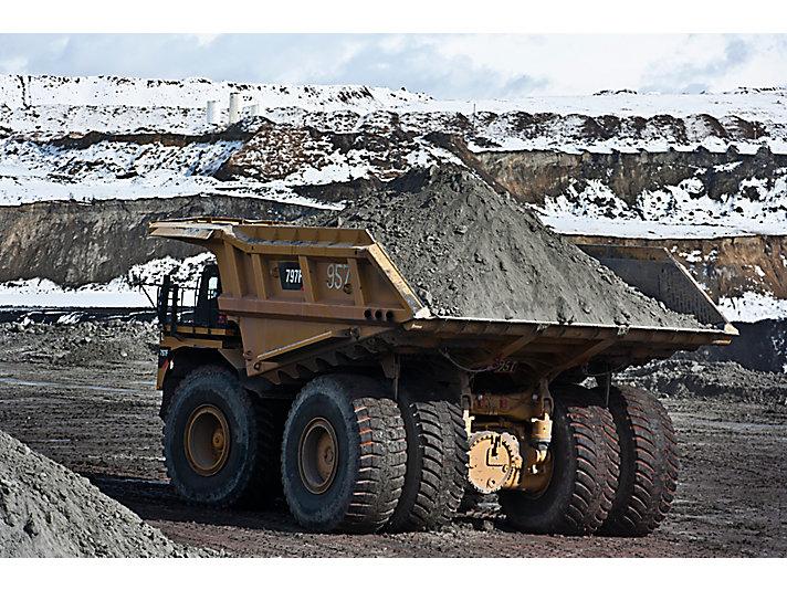 797F 광산용 트럭