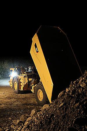 Cat Ad60 Underground Articulated Truck Caterpillar