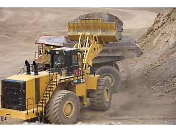 Cat® 993K Large Wheel Loader