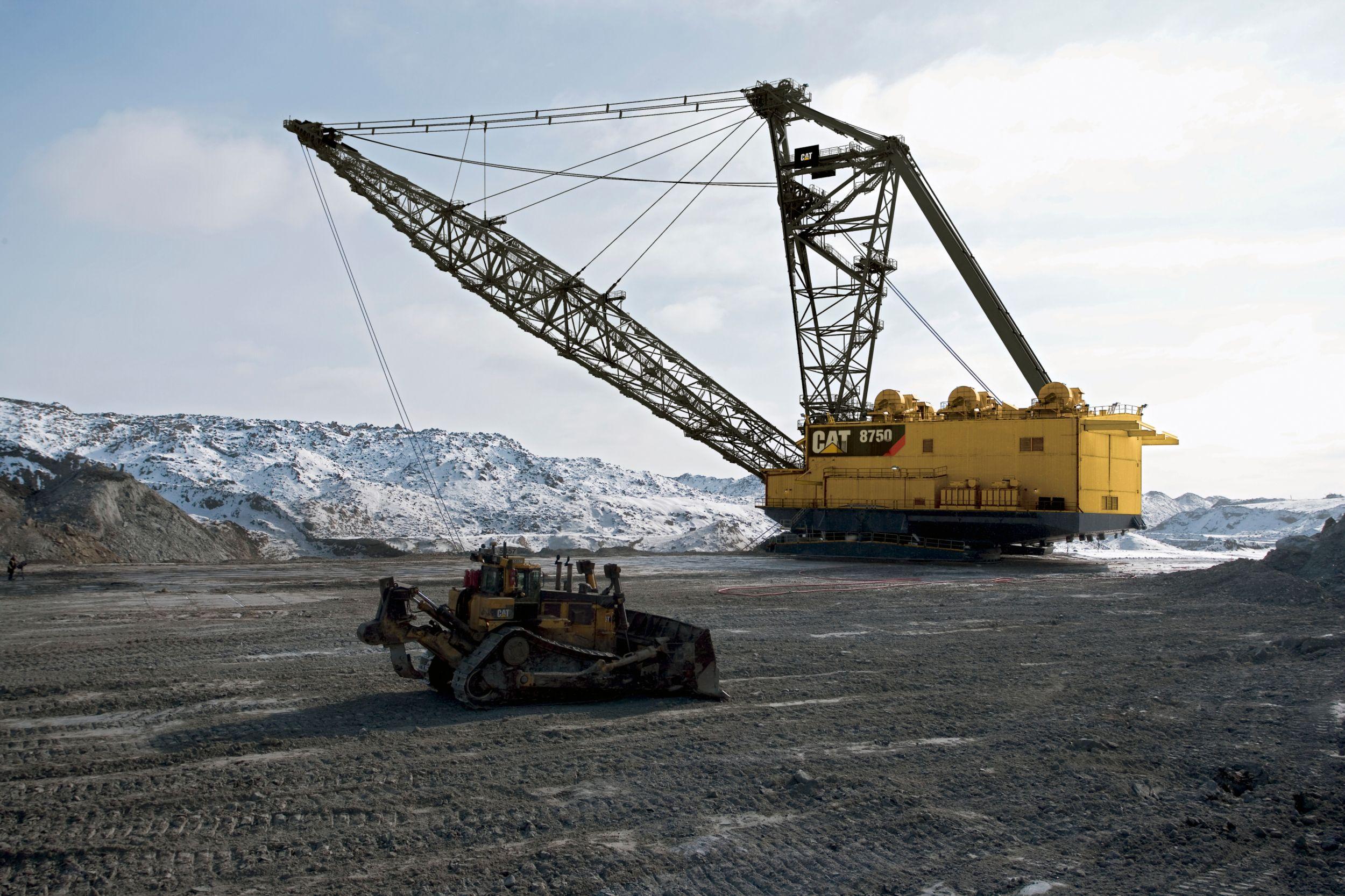 P&H Draglines - Surface Mining | Komatsu Mining Corp.