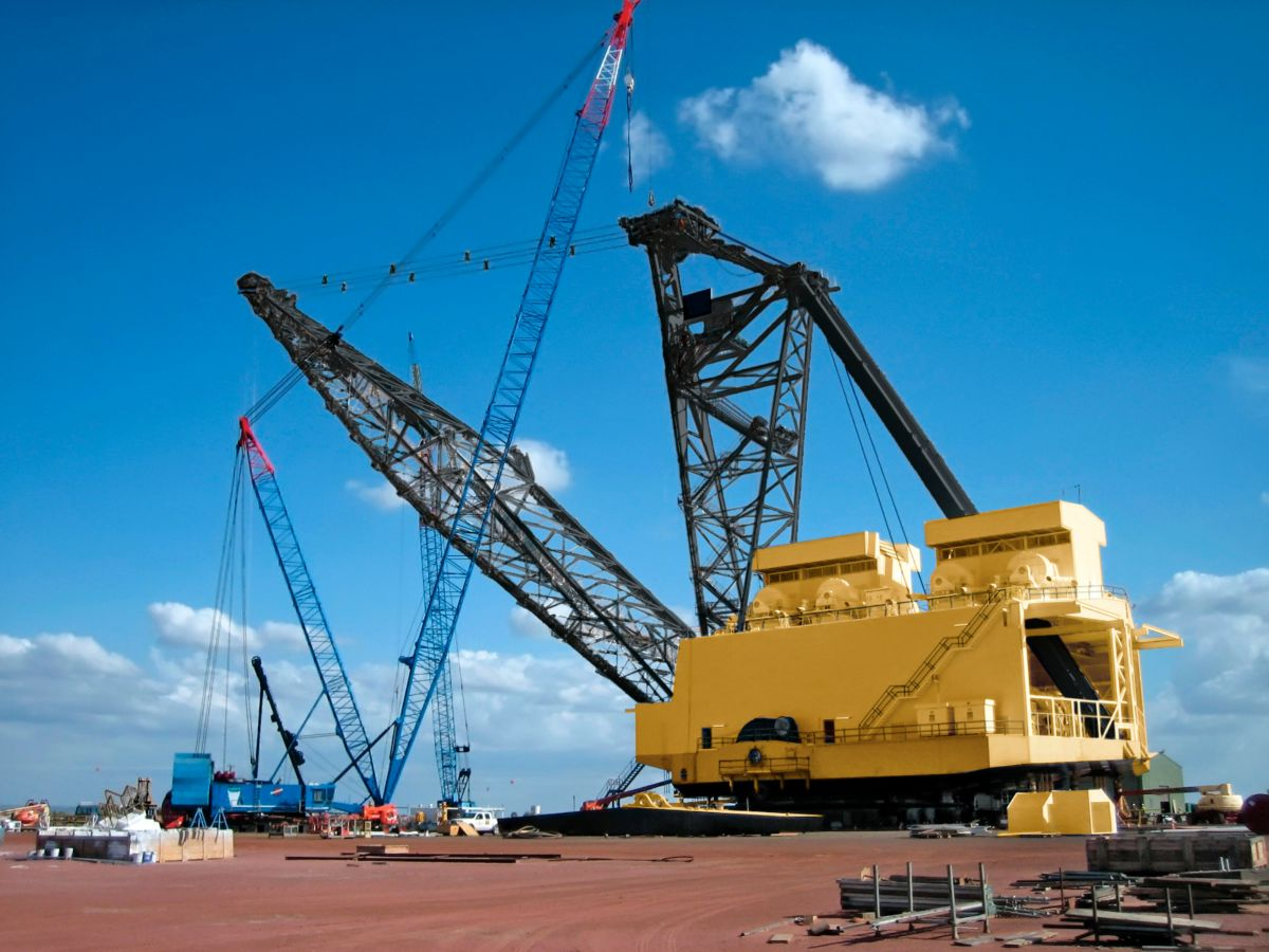 Draglines For Sale or Rent Florida - YouTube