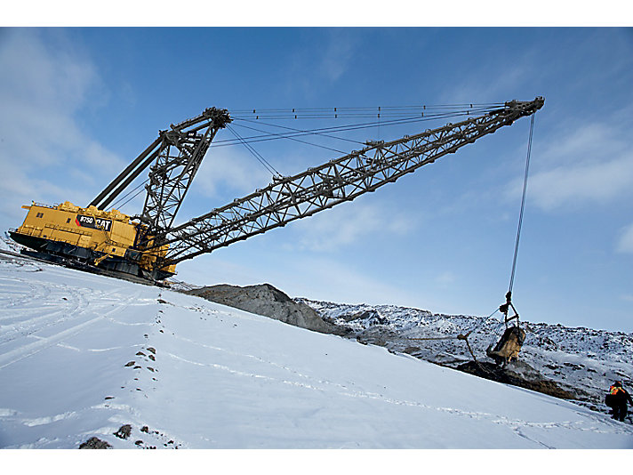 Escavatore dragline 8750