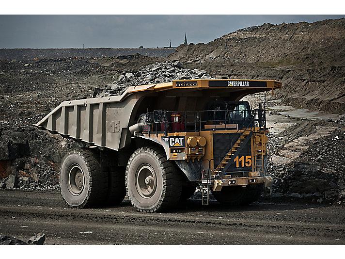Tombereaux pour applications minières793F
