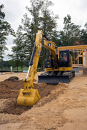 314E CR Small Hydraulic Excavator