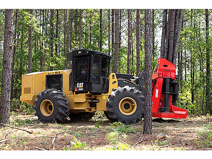 C770030?$cc g$ cat 553c wheel feller buncher caterpillar Caterpillar 586C Forestry Mulcher at reclaimingppi.co