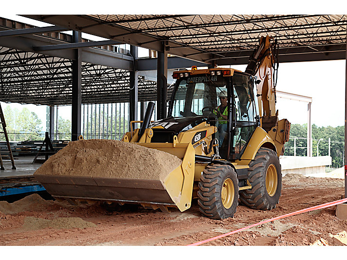 450F Backhoe Loader