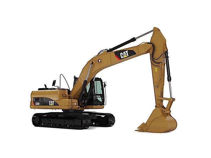 320D/320D L Medium Excavators