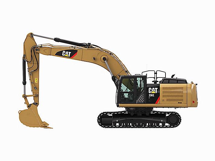 336E L Hybrid Large Excavator