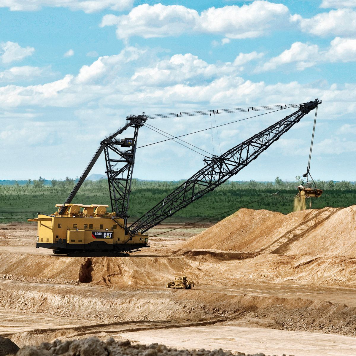 New & Used Draglines For Sale & Rental - Rock & Dirt
