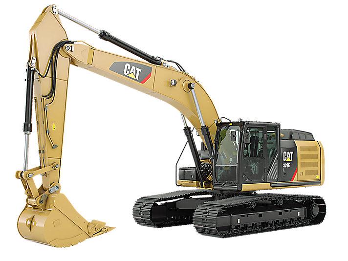 Excavadora Hidráulica Mediana 329E