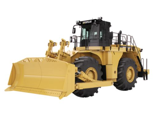 844H - Large Wheel Dozers