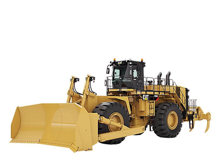 854K 휠 도저