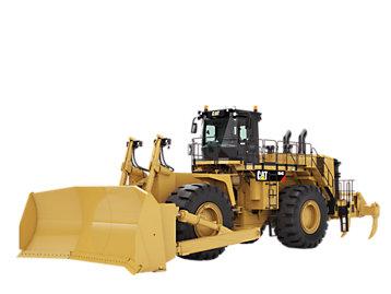 大型轮式推土机