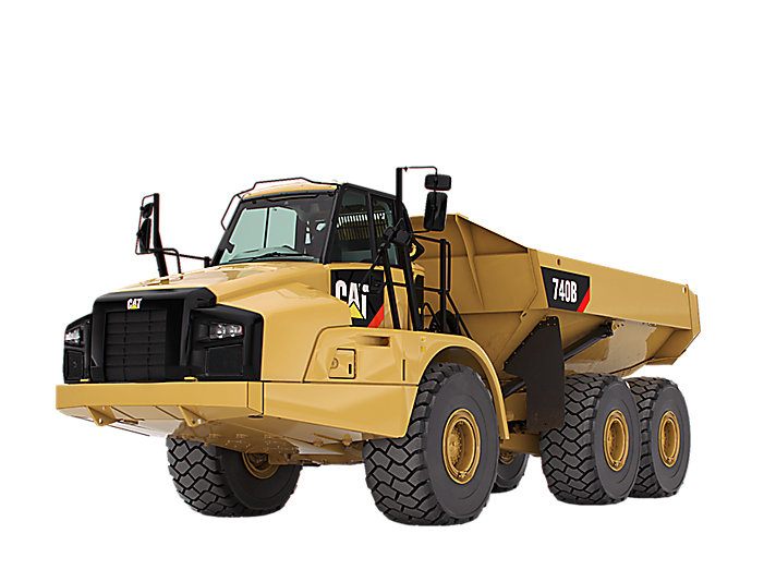 740B Articulated Trucks