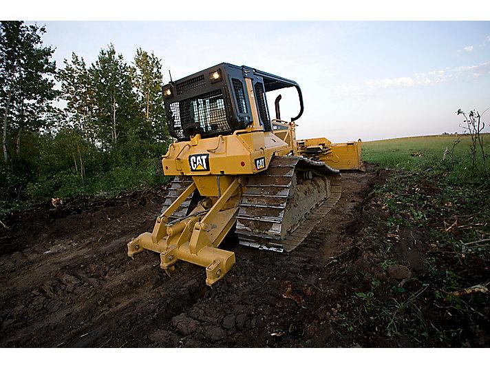Tracteur à chaînes intermédiaireD6N