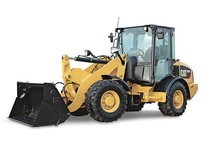 how to operate a cat front end loader