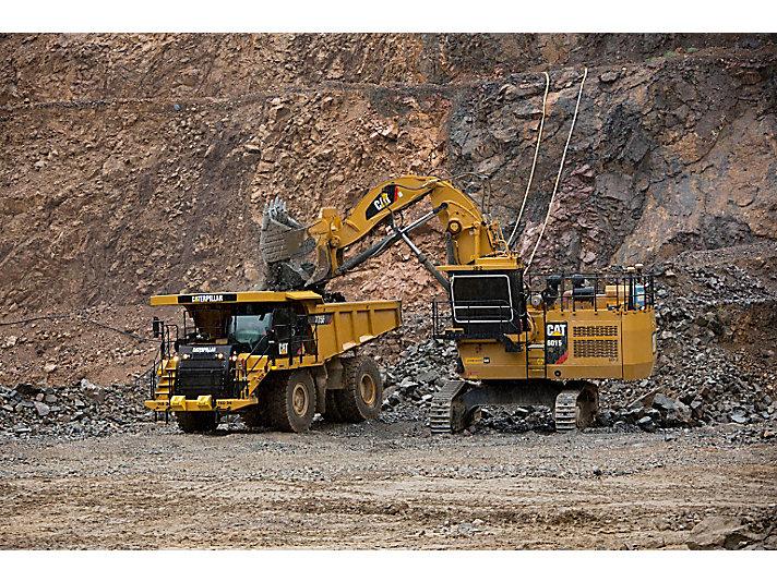 Escavadeiras Hidráulicas Shovel de Mineração 6015/6015 FS