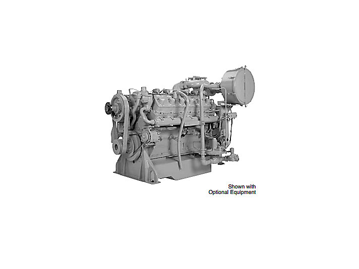 G3412 Gas Engine