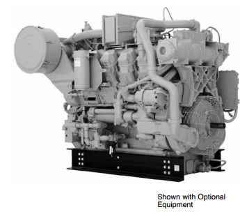 Cat<sup>®</sup> G3508 Industrial Gas Engine