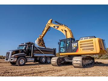Cat® 336E Hybrid Excavator