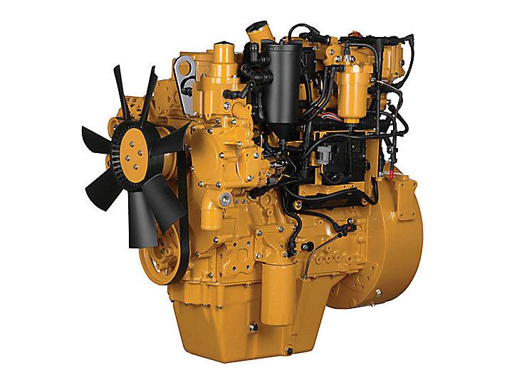 Motores Diesel C4.4 ACERT Tier 4 - Altamente Regulamentado