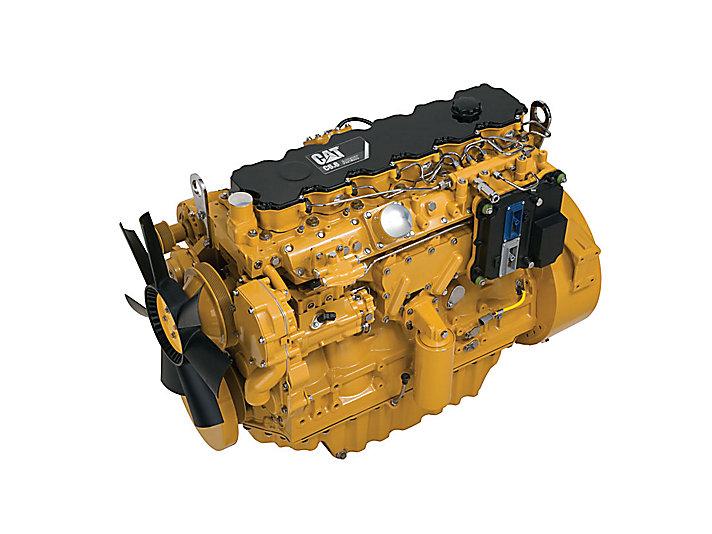 Moteurs diesel C6.6 ACERT LRC: régions peu ou pas réglementées