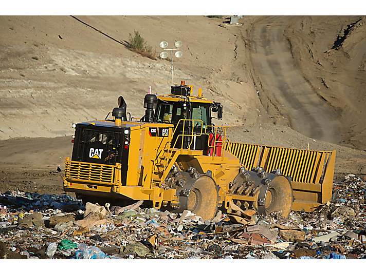 Landfill Compactors Garbage Pictures : Cat k landfill compactor caterpillar