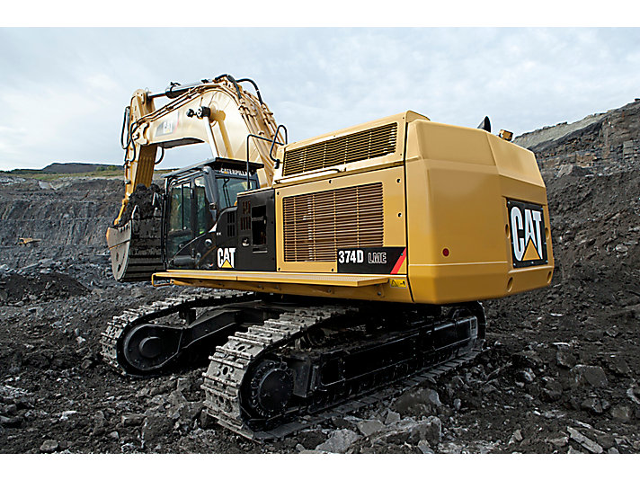 374D L Large Hydraulic Excavator